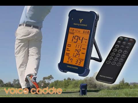 Swing Caddie 2 By Voice Caddie: The Most Accurate & Affordable Launch Monitor