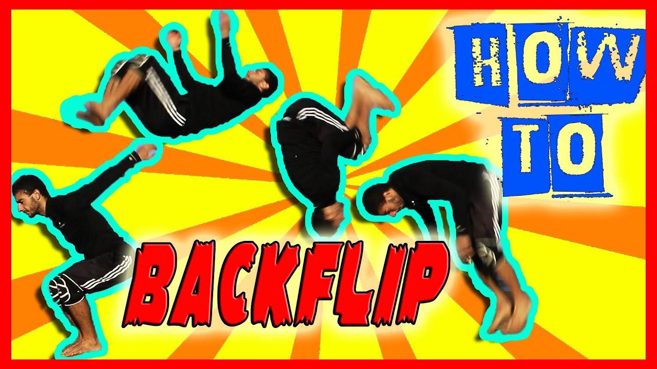 How to Backflip in 3 easy Steps Only (Beginner BackFlip ...