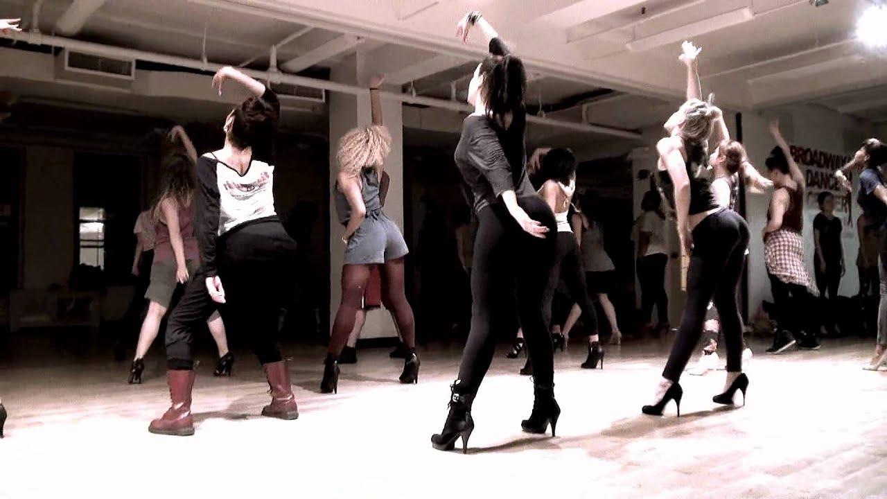 how to walk dance in heels
