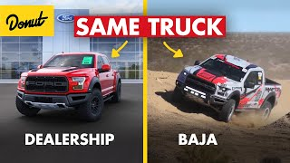 How a STOCK Ford Raptor Can Survive Baja