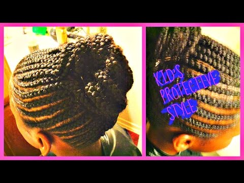 Natural Hair Braids For Kids Fourth Of July Hairstyles Protective