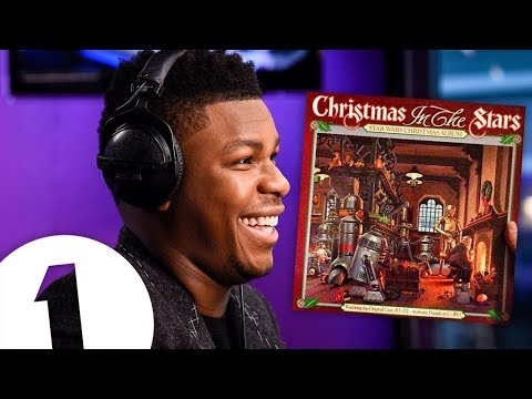 John Boyega reacts to Christmas In The Stars (the Star Wars Christmas album)