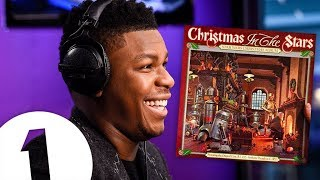 John Boyega reacts to the Star Wars Christmas album (Christmas In The Stars)