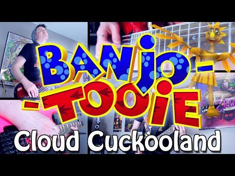 Cloud Cuckooland - Banjo Tooie (Rock/Metal) Guitar Cover | Gabocarina96