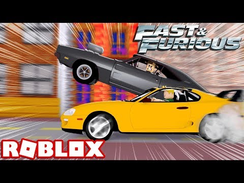 FAST AND FURIOUS IN ROBLOX! (Roblox Vehicle Simulator)