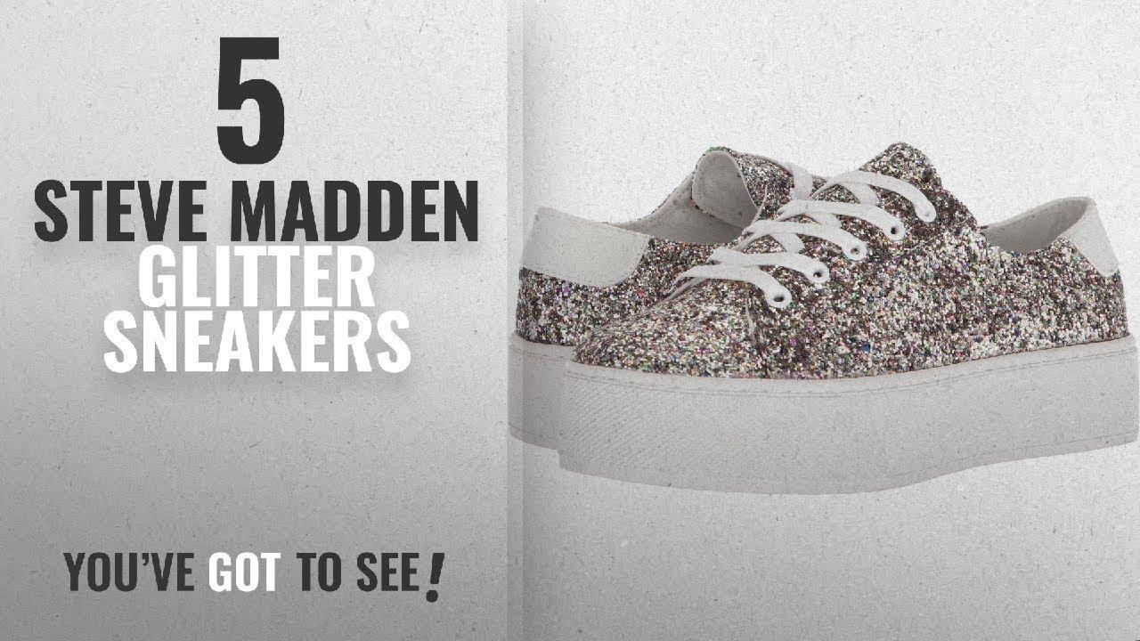 16274421c0a Top 5 Steve Madden Glitter Sneakers  2018   Steve Madden Women s Felecia  Glitter Multi 8 M US