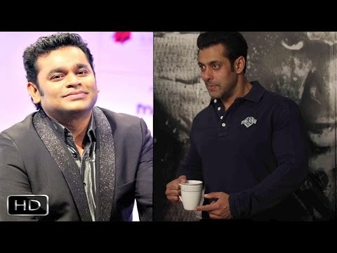 Salman To Launch A R Rahman-Kapil Sibal Album Raunaq