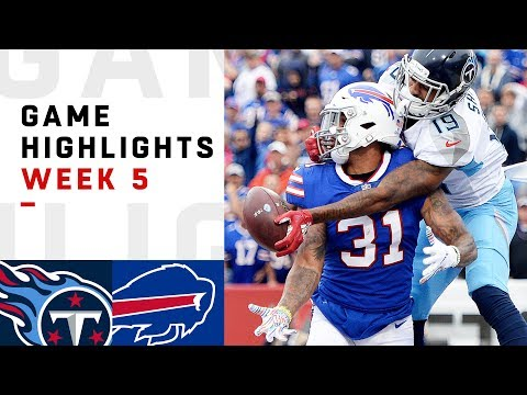 Titans vs. Bills Week 5 Highlights | NFL 2018