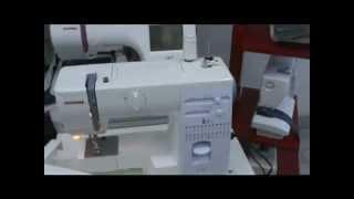 видео Швейная машина JANOME 5522