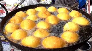 Coconut Flower Bajji - Rare Andhra Food - Kobbari Puvvu Bajji