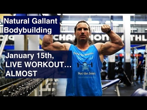 January 15, LIVE FULL BODY WORKOUT