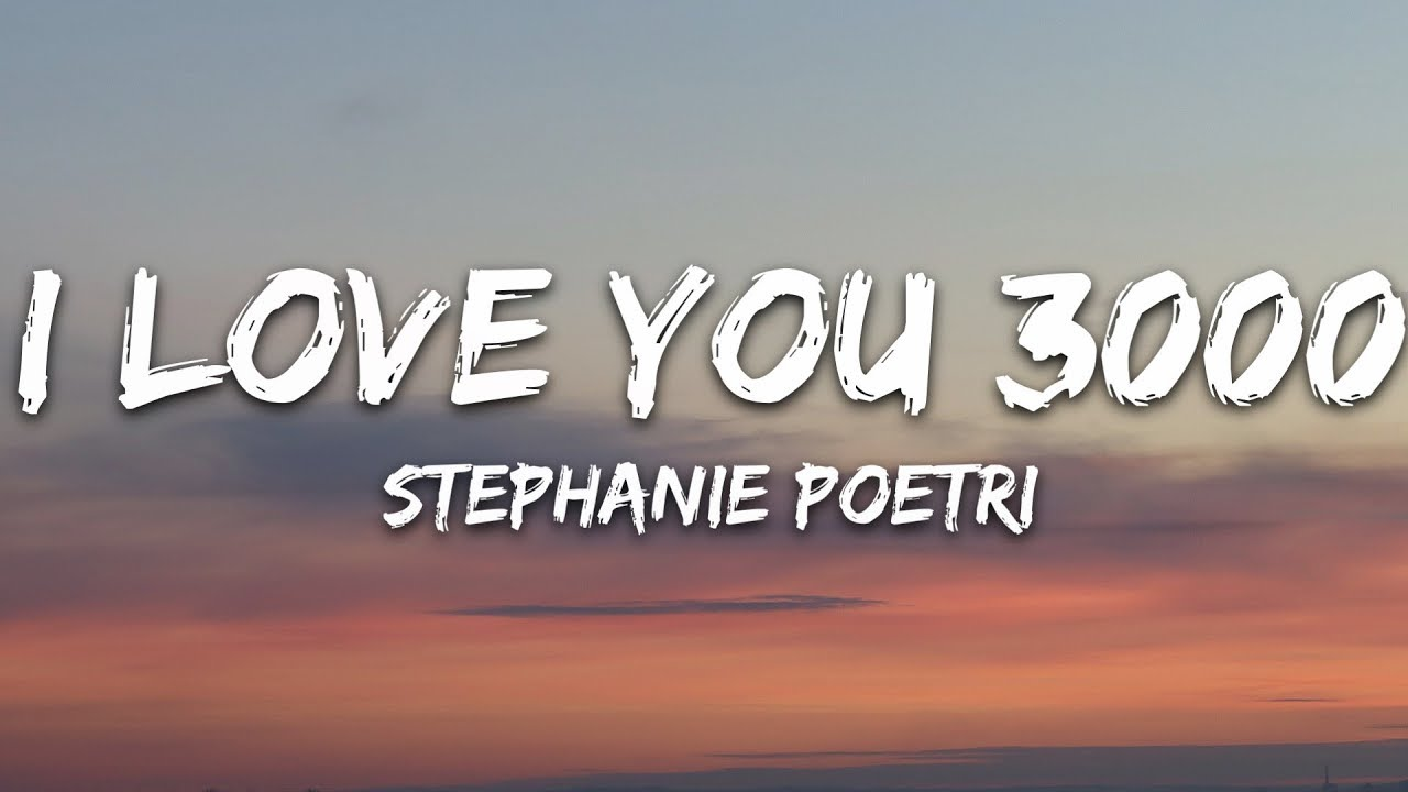 Download Stephanie Poetri - I Love You 3000 (Lyrics)