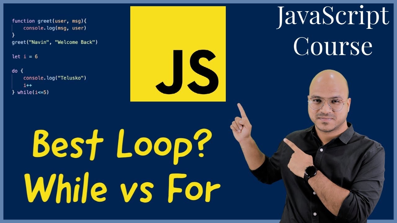 #18 While vs For Loop | Which to use and When?
