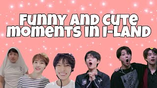 Funny and Cute moments in I-LAND [EP.9]