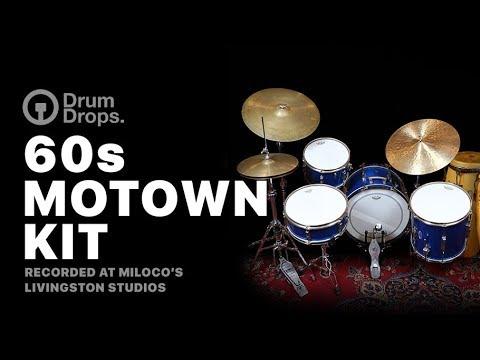 60s Motown Kit - Vintage Drum Kit Samples by DrumDrops