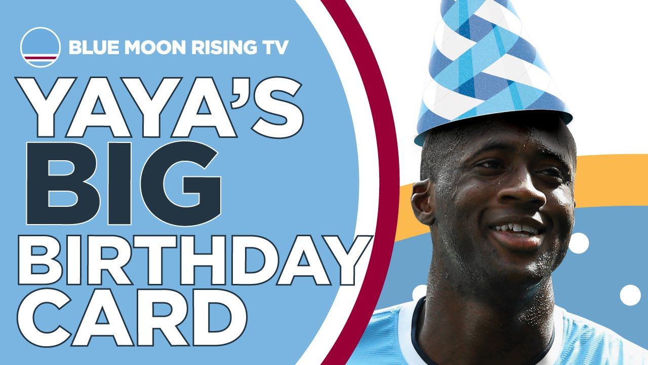 Will Yaya Toure Accept His Big Birthday Card Manchester City