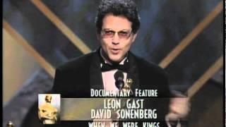 """""""When We Were Kings"""" winning Best Documentary Feature"""