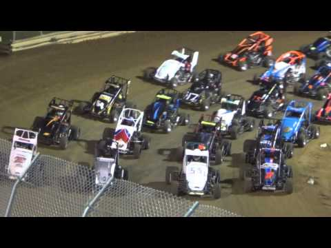 Clyde Martin Memorial Speedway Labor Day Wingless Feature with Commentary