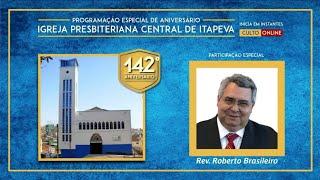 Roberto Brasileiro - 142 anos da IP Central de Itapeva