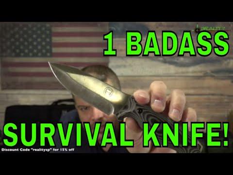Holtzman's Gorilla Survival Knife Review – D2 Silverback – Long Version