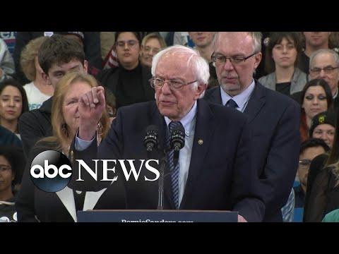 Sen. Bernie Sanders wins New Hampshire primary