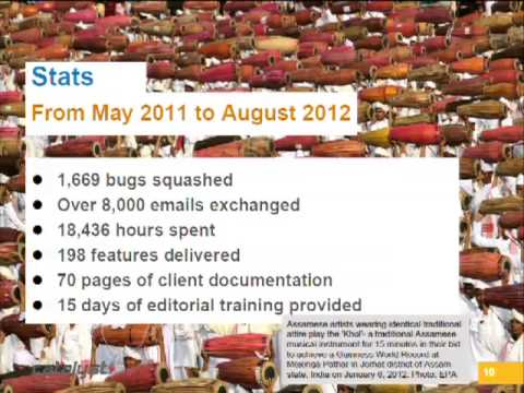 DrupalCon Sydney 2013: News & Media Case Study: South China Morning Post