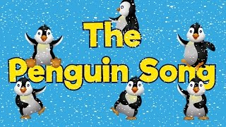 Penguin Dance | Penguin Song | Brain Breaks | Gross Motor Activities | Jack Hartmann