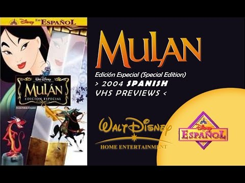 "opening-to-""mulán""-edición-especial-[""mulan""-special-edition]-2004-spanish-vhs"