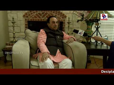 Dr Subramanian Swamy Excellent Interview to Desiplaza TV