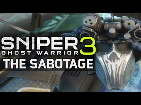 Sniper: Ghost Warrior 3 - The Sabotage DLC - Let's Play (FULL DLC)