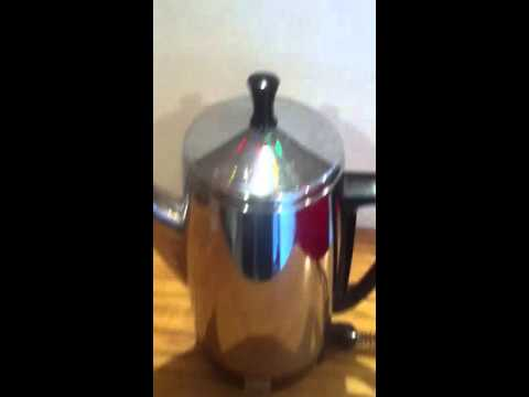 use grinder, then brew coffee