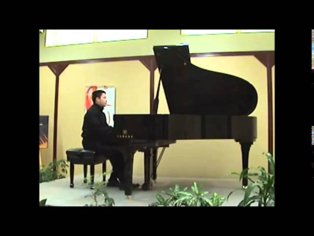 Cours de piano montreal |Mozart : sonata K 332. 2nd movement
