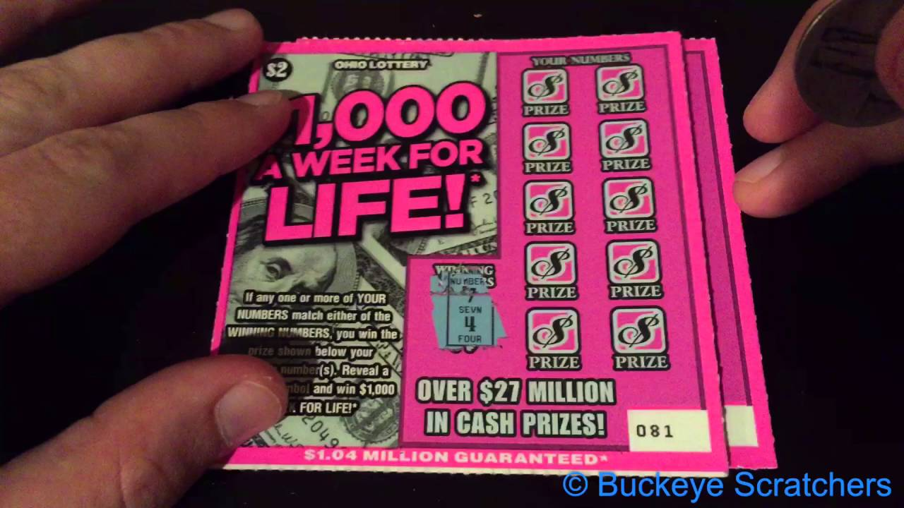 Lucky for life ohio prizes