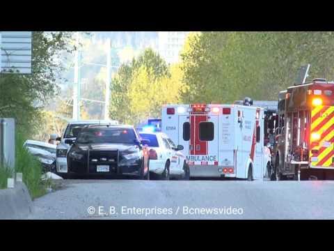 Serious motor vehicle crash Lougheed Hwy Coquitlam City