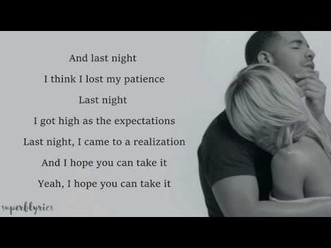 Drake   Too Good ft  Rihanna Lyrics
