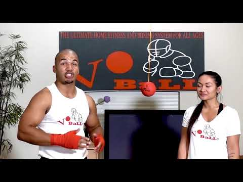 Vo Ball Boxing and Fitness DVD--how to throw a proper straight right #voball