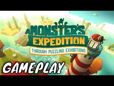 A Monster S Expedition Through Puzzling Exhibitions First 5 Minutes Gameplay Youtube