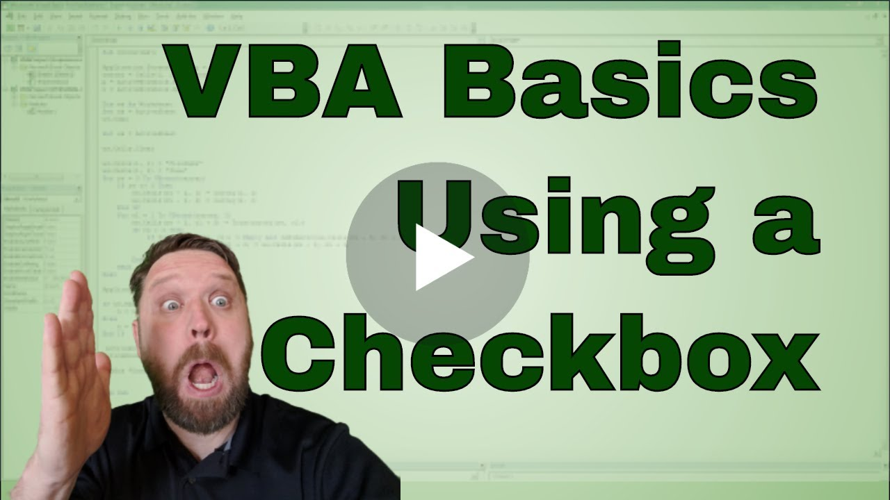 worksheet Excel Vba Hide Worksheet excel vba using a check box to hide sheet and some rows youtube rows