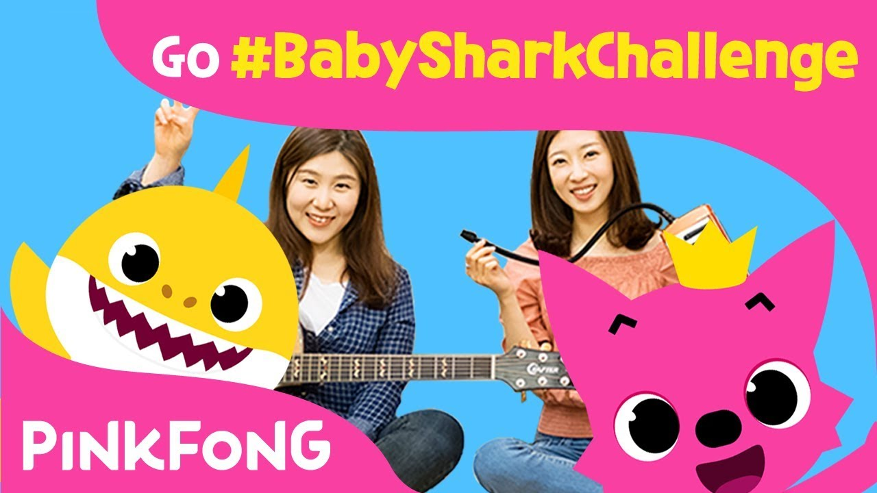 Pinkfong Baby Shark Cover By J Rabbit Babysharkchallenge Go