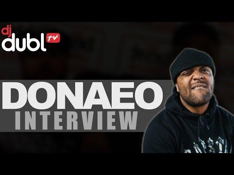 Donaeo Interview - Studio with Giggs, headline concert, new single & more!