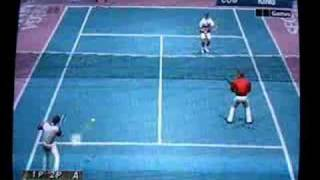 Virtua Tennis - Victory against King and Master