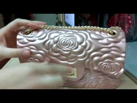 69c322f9170c Tas Chanel Jelly Matte Flower PREMIUM import - YouTube