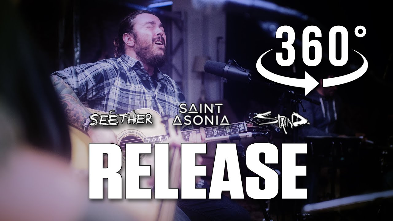 Release (Pearl Jam) Acoustic Cover by Shaun Morgan of Seether & Adam Gontier of Saint Asonia 360/VR.