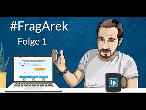 #FragArek Folge 1 Mathe Zum Programmieren, HTML Als Programmiersprache, Hybride App Entwicklung