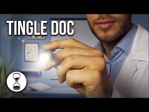ASMR | CRANIAL NERVE EXAM | Doctor Role Play, Soft Spoken, Follow the Light (binaural)
