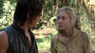 The Walking Dead Season 4 Episode 12 Daryl's and Beth's Fight