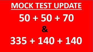 Updates for MOCK Test on Sunday (28-Feb) for NEET 2021 & NEET 2022 Aspirants - ARE YOU READY?