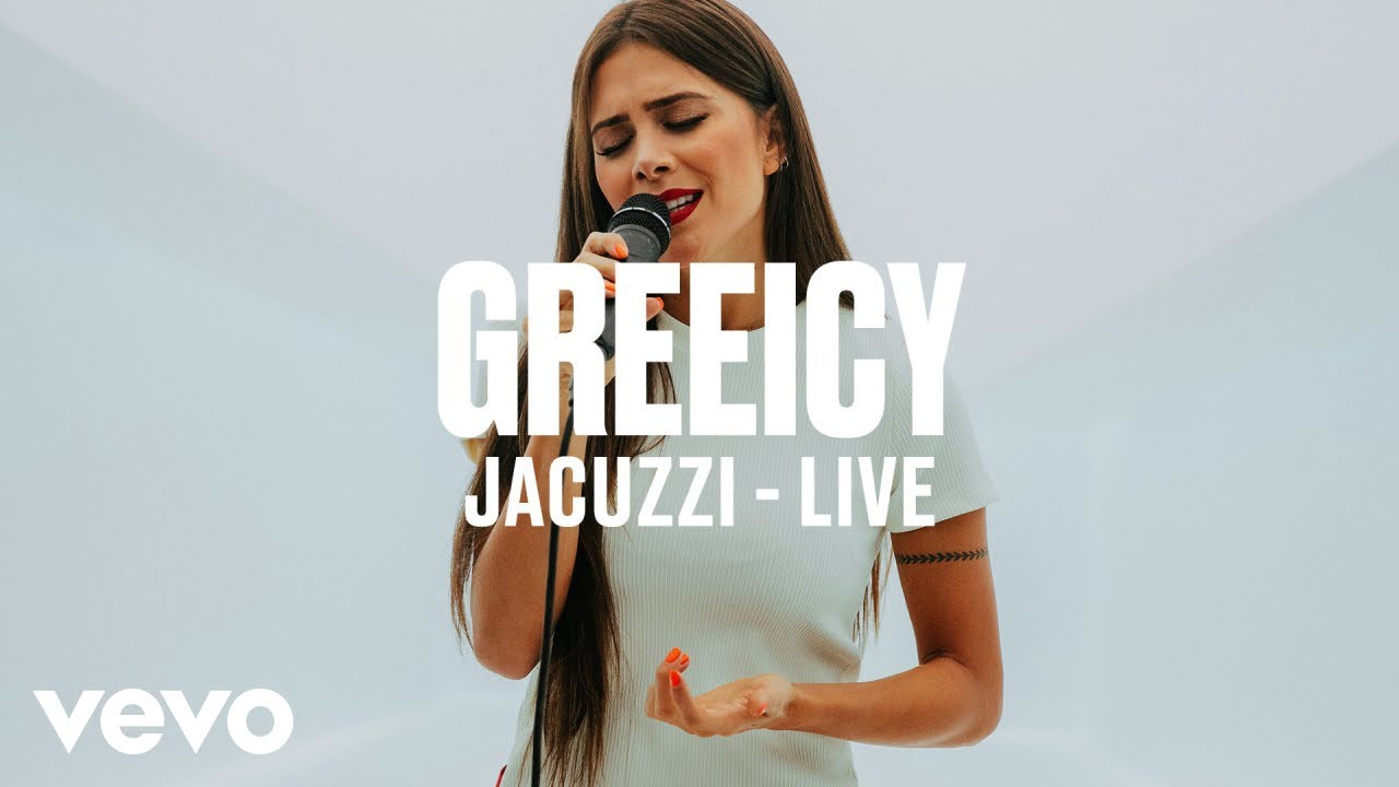 Greeicy — Jacuzzi (Live) | Vevo DSCVR ARTISTS TO WATCH 2019