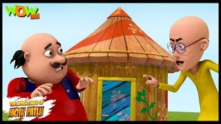 Motu Patlu New Episode  Cartoons  Kids TV Shows  Motu Ke Pappa Ka Bungalow  Wow Kidz