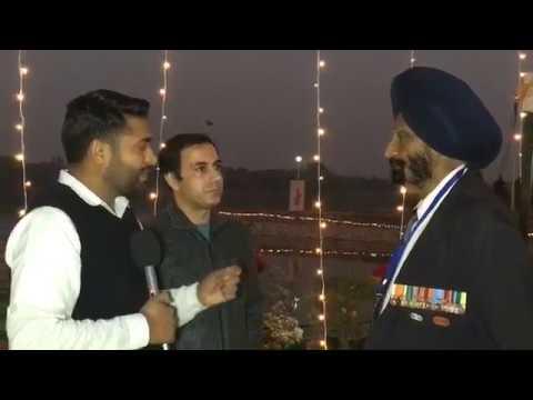 Brigadier Chandpuri at Chandigarh Military Literature Festival